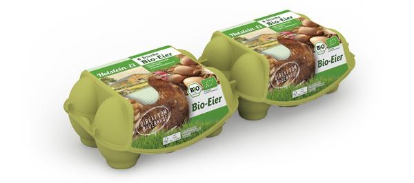 Bio-Eier – 6er Packung