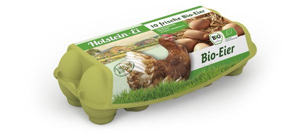 Bio-Eier – 10er Packung