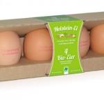 Bio-Eier Naturland – 4er Packung